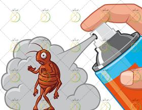 از بین بردن حشرات خانگی